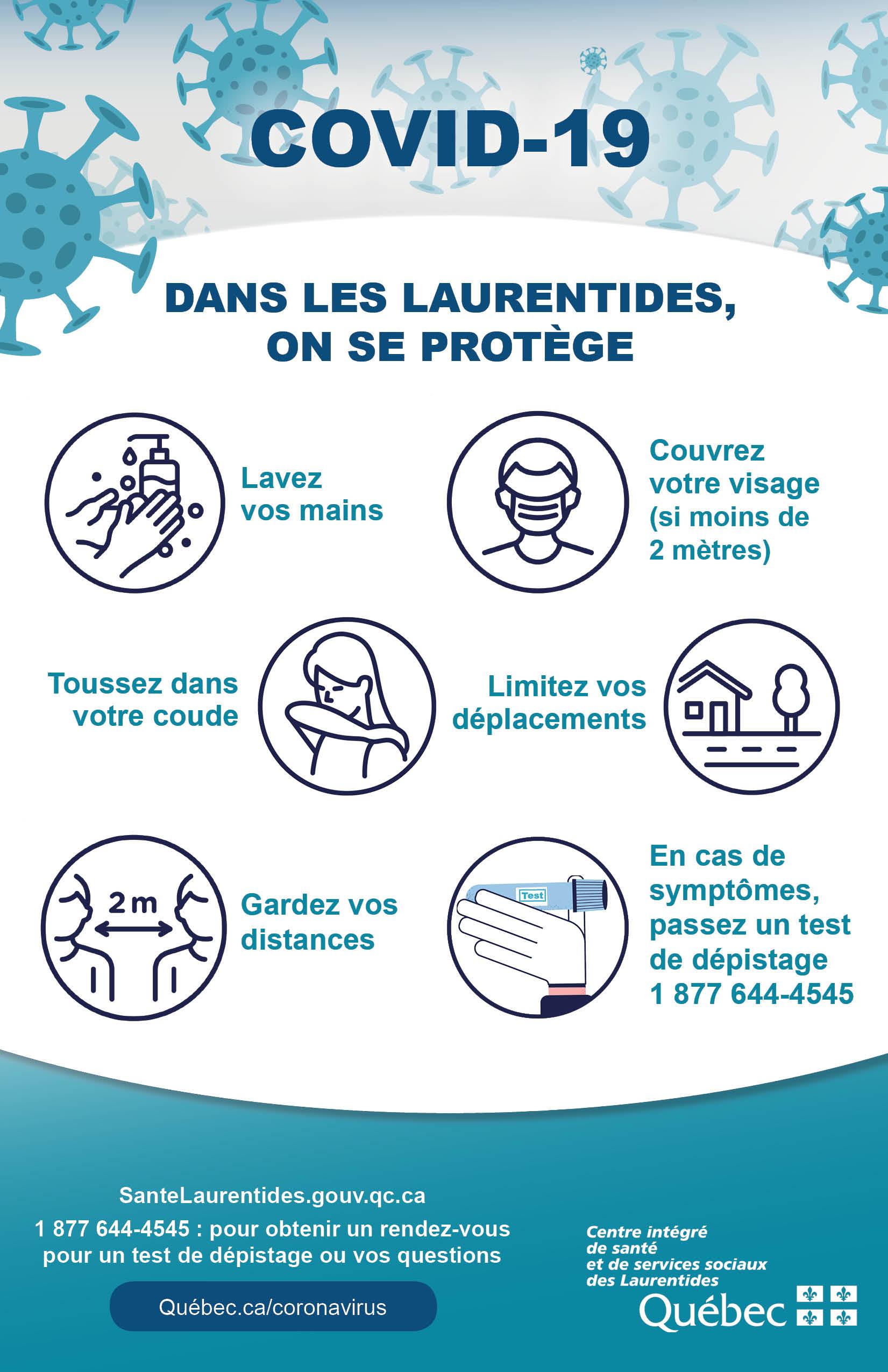 Informations Pour Nos Partenaires Municipalites Cisss Des Laurentides